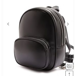 forever 21 mini faux leather backpack